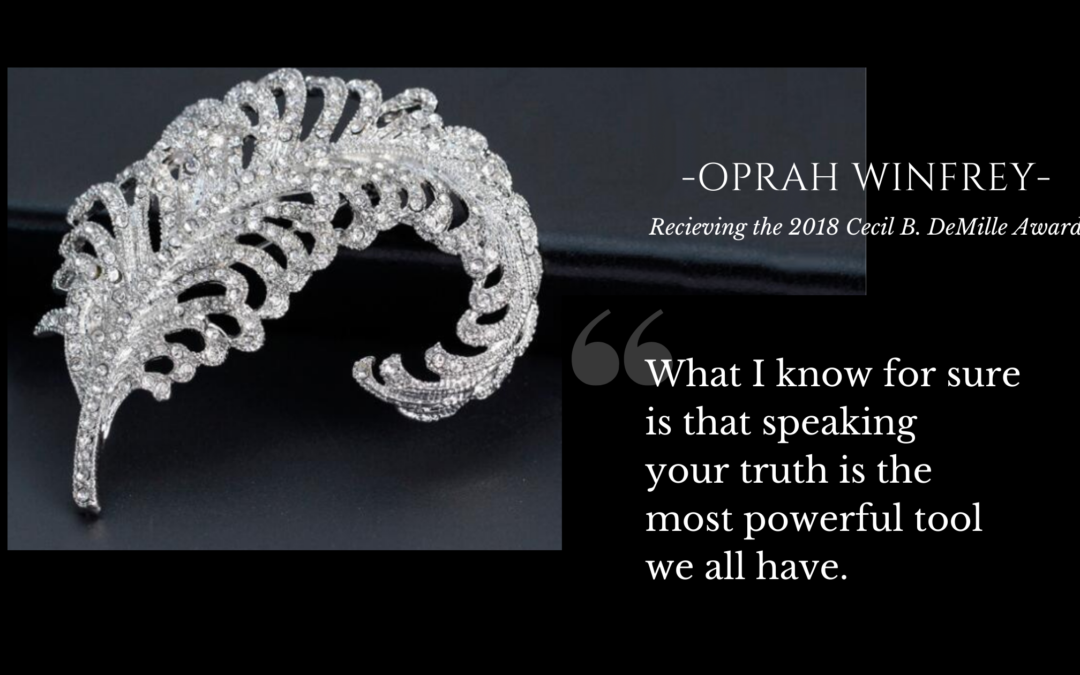 What Oprah Said Out Loud   Truthfairy Award